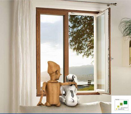 Milano - finestra alluminio legno