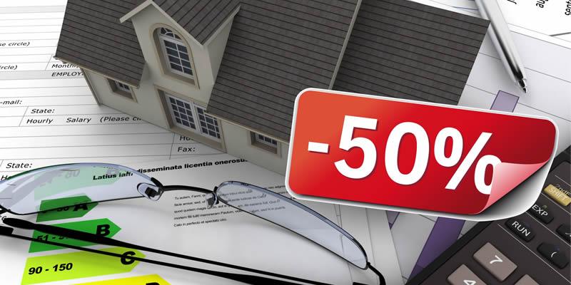 detrazione-fiscale50 per serramenti