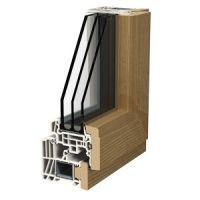 Finestre alluminio legno - Profili LIGNATEC 200 CLASSIC LINE MILANO
