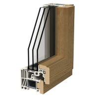 Finestre alluminio legno - Profili LIGNATEC 200 NOVA LINE MILANO