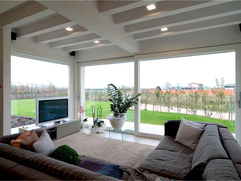 Finestre infissi serramenti pvc alluminio legno by piesseti - Costo porta finestra pvc ...