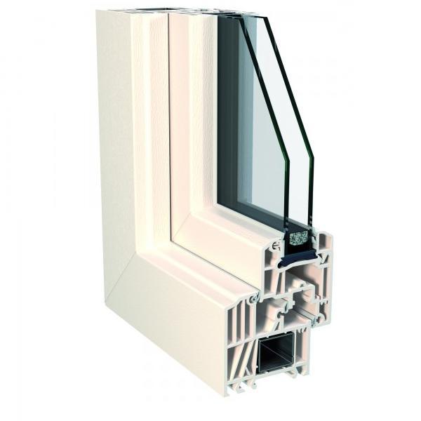 Finestre in pvc sistema top 72 step line a milano e in for Offerta finestre pvc