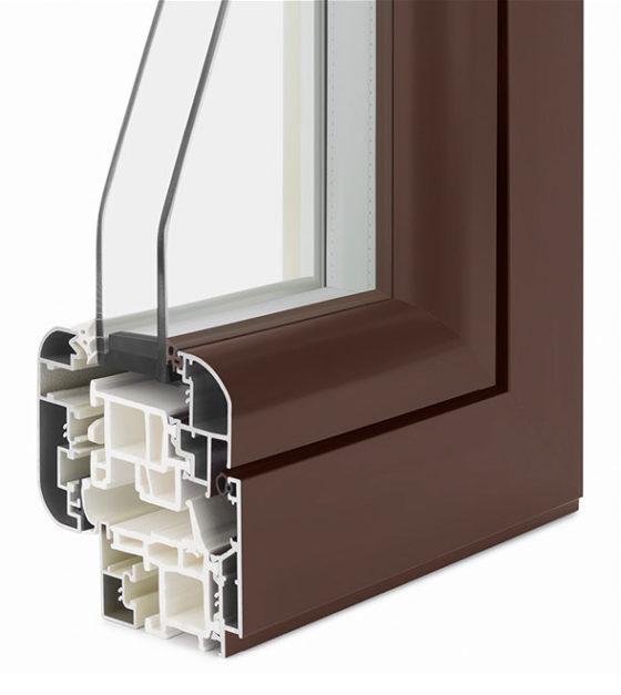 Serramenti alluminio e abs ad alto potere isolante uw fino a 1 - Profili alluminio per finestre ...