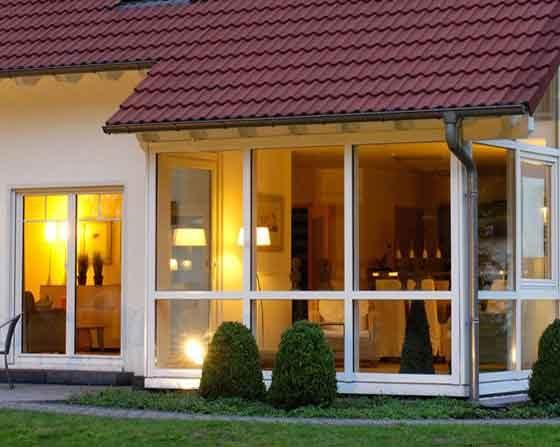 Realizzazioni con finestre in pvc